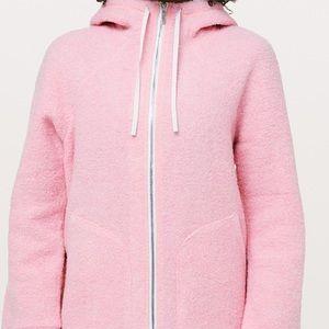 Lululemon athletica Sherpa hoodie